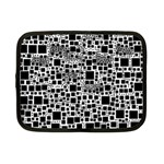 Block On Block, B&w Netbook Case (Small)  Front