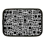 Block On Block, B&w Netbook Case (Medium)  Front