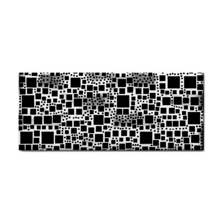 Block On Block, B&w Hand Towel