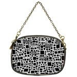 Block On Block, B&w Chain Purses (One Side)  Front