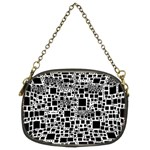 Block On Block, B&w Chain Purses (Two Sides)  Front