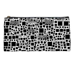 Block On Block, B&w Pencil Cases
