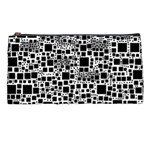 Block On Block, B&w Pencil Cases Front