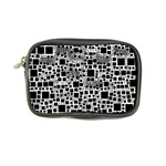 Block On Block, B&w Coin Purse Front