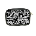 Block On Block, B&w Coin Purse Back