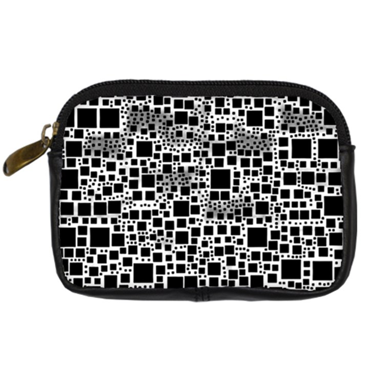 Block On Block, B&w Digital Camera Cases