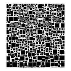 Block On Block, B&w Shower Curtain 66  X 72  (large)