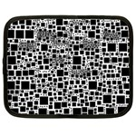Block On Block, B&w Netbook Case (XXL)  Front