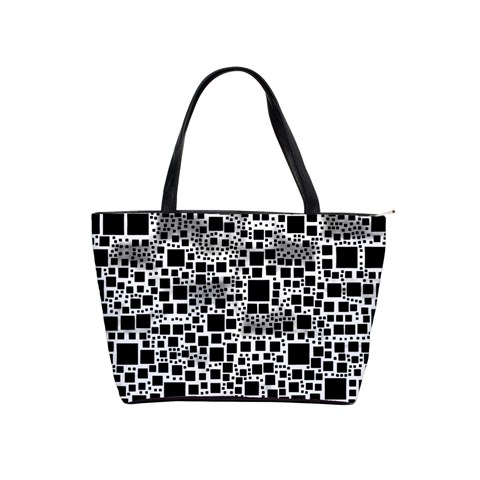 Block On Block, B&w Shoulder Handbags