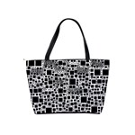 Block On Block, B&w Shoulder Handbags Back