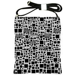 Block On Block, B&w Shoulder Sling Bags