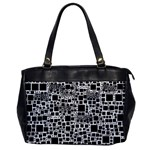 Block On Block, B&w Office Handbags Front