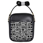 Block On Block, B&w Girls Sling Bags Front