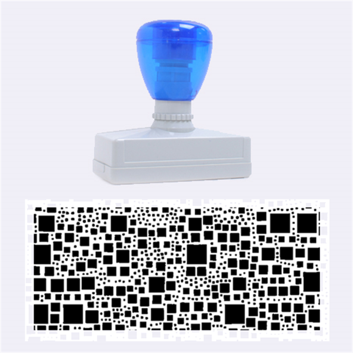 Block On Block, B&w Rubber Stamps (Large)