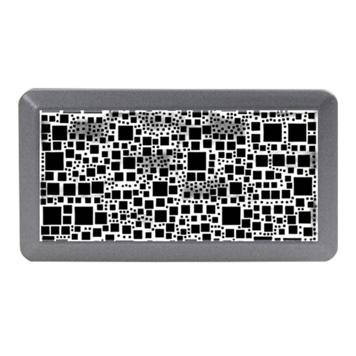 Block On Block, B&w Memory Card Reader (Mini)