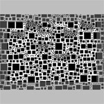 Block On Block, B&w Deluxe Canvas 18  x 12   18  x 12  x 1.5  Stretched Canvas