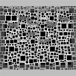 Block On Block, B&w Deluxe Canvas 20  x 16   20  x 16  x 1.5  Stretched Canvas