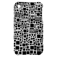 Block On Block, B&w Apple iPhone 3G/3GS Hardshell Case