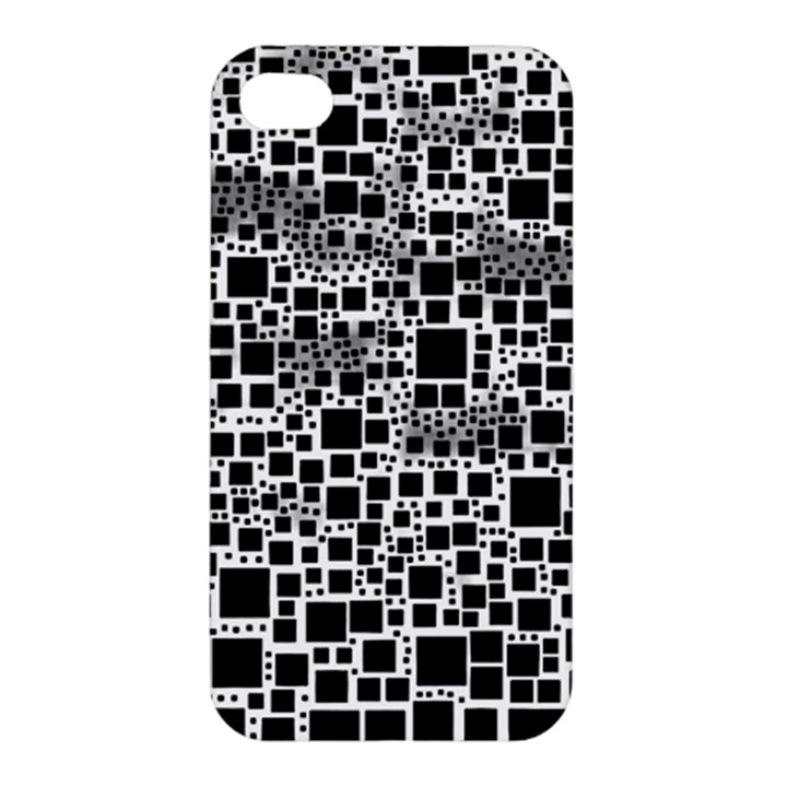 Block On Block, B&w Apple iPhone 4/4S Hardshell Case