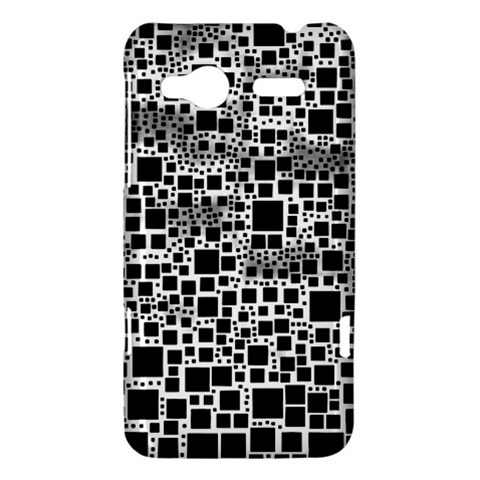 Block On Block, B&w HTC Radar Hardshell Case