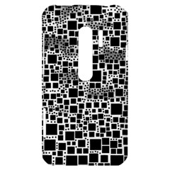 Block On Block, B&w HTC Evo 3D Hardshell Case