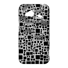 Block On Block, B&w HTC Droid Incredible 4G LTE Hardshell Case