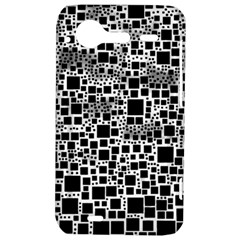 Block On Block, B&w HTC Incredible S Hardshell Case