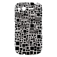 Block On Block, B&w HTC Desire S Hardshell Case