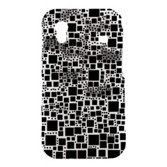 Block On Block, B&w Samsung Galaxy Ace S5830 Hardshell Case