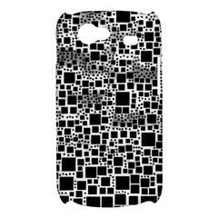 Block On Block, B&w Samsung Galaxy Nexus S i9020 Hardshell Case