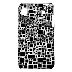 Block On Block, B&w Samsung Galaxy S i9008 Hardshell Case