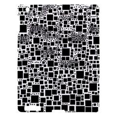 Block On Block, B&w Apple Ipad 3/4 Hardshell Case