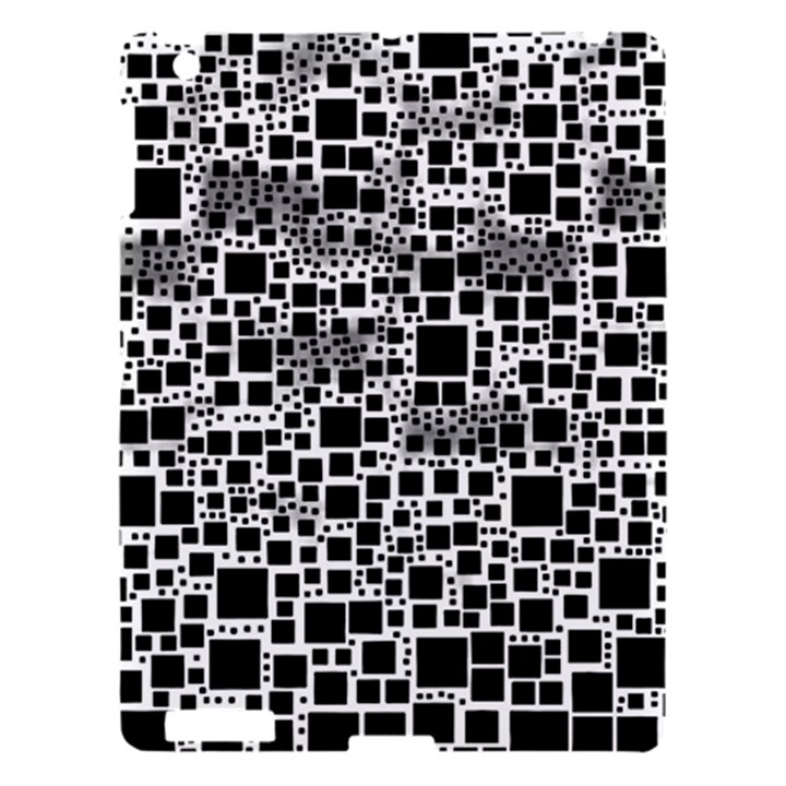 Block On Block, B&w Apple iPad 3/4 Hardshell Case