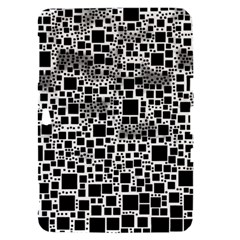 Block On Block, B&w Samsung Galaxy Tab 8.9  P7300 Hardshell Case
