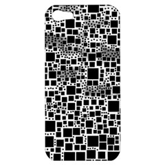 Block On Block, B&w Apple iPhone 5 Hardshell Case