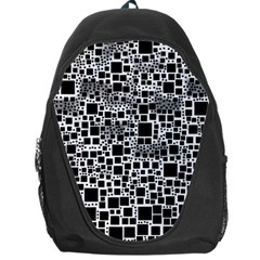 Block On Block, B&w Backpack Bag