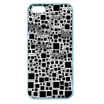 Block On Block, B&w Apple Seamless iPhone 5 Case (Color) Front