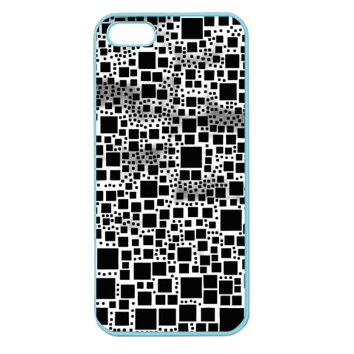 Block On Block, B&w Apple Seamless iPhone 5 Case (Color)