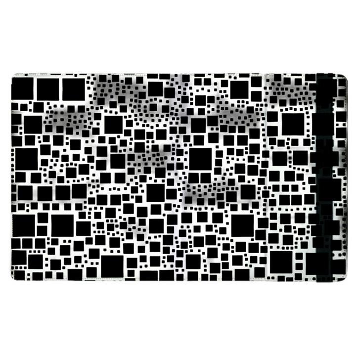 Block On Block, B&w Apple iPad 2 Flip Case