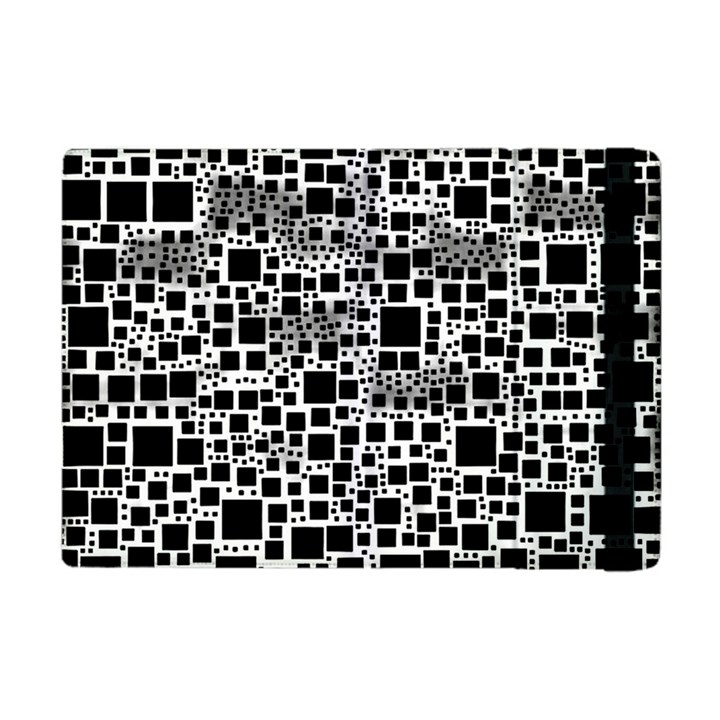 Block On Block, B&w Apple iPad Mini Flip Case