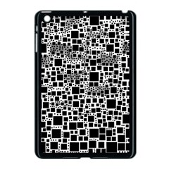 Block On Block, B&w Apple iPad Mini Case (Black)