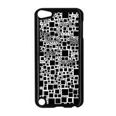 Block On Block, B&w Apple iPod Touch 5 Case (Black)