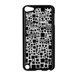 Block On Block, B&w Apple iPod Touch 5 Case (Black) Front