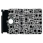 Block On Block, B&w Apple iPad 2 Flip 360 Case Front