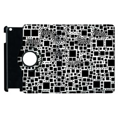 Block On Block, B&w Apple iPad 3/4 Flip 360 Case