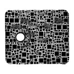 Block On Block, B&w Samsung Galaxy S  III Flip 360 Case Front