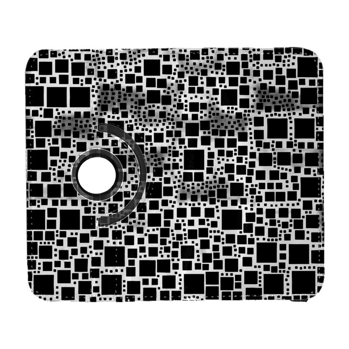 Block On Block, B&w Samsung Galaxy S  III Flip 360 Case