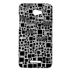 Block On Block, B&w HTC Butterfly X920E Hardshell Case