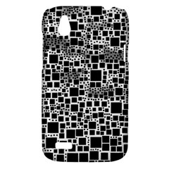 Block On Block, B&w HTC Desire V (T328W) Hardshell Case