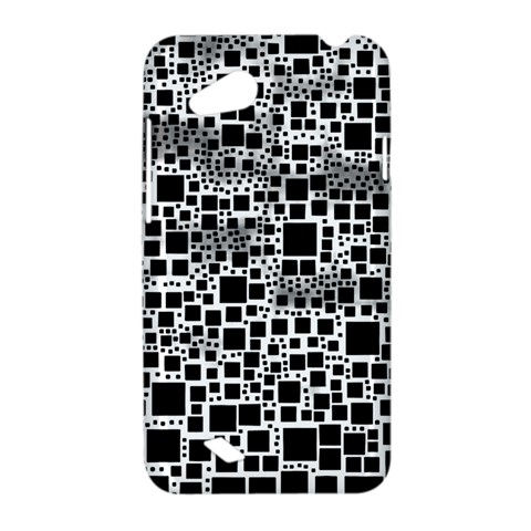 Block On Block, B&w HTC Desire VC (T328D) Hardshell Case